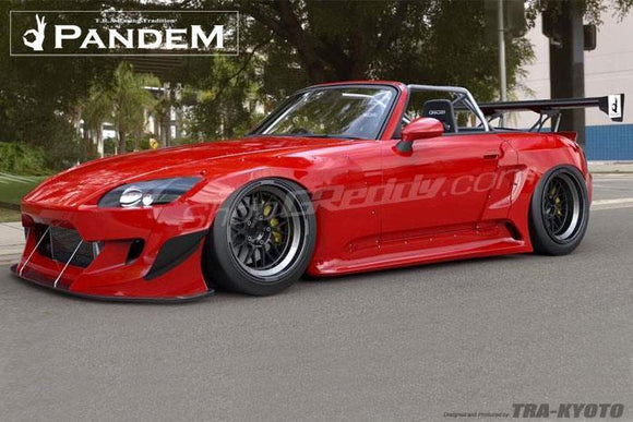 Pandem S2000 Complete Wide Body Aero Kit (No GT Wing)