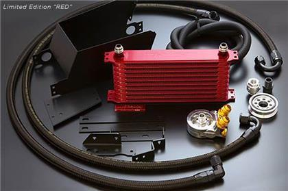 GReddy 13+ Scion FR-S / Subaru BRZ 10-Row C/S Oil Cooler Kit (Limited Red Version)