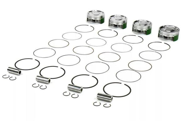 Cosworth EJ25 Forged Piston Set with Rings (Bore: 99.75mm Comp Ratio: 8.2:1)