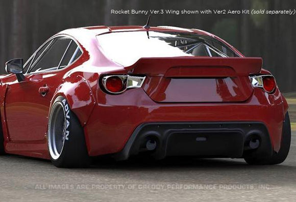 GReddy 13+ Scion FR-S Version 3 Greddy X Rocket Bunny 86 Aero Rear Aero Wing Only