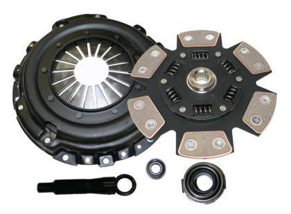 Comp Clutch Subaru 06-16 STI Push Style 230mm Stage 4 6 Pad Ceramic Clutch Kit