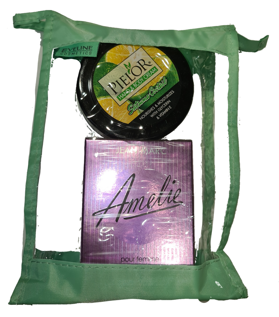 Gift set -12 amelie edt i hand body cream 250ml