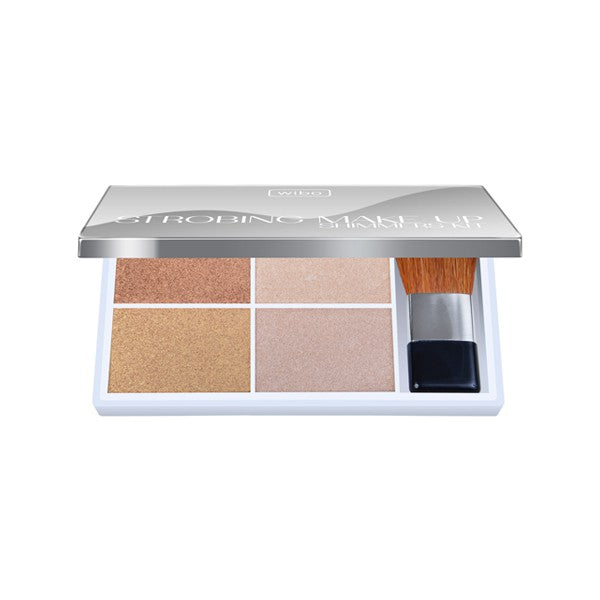 Highlighet strobing make up shimmers set