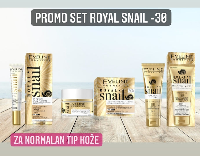 Promo set royal snail -30