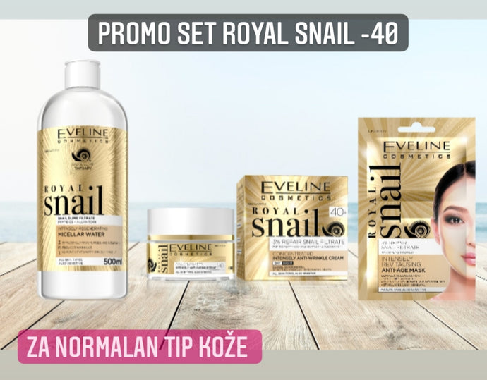 Promo set royal snail -40