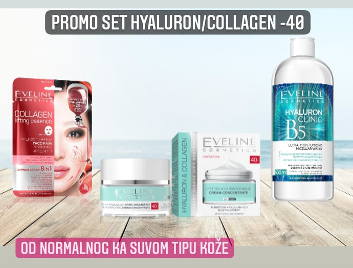Promo set hyaluron/collagen -40