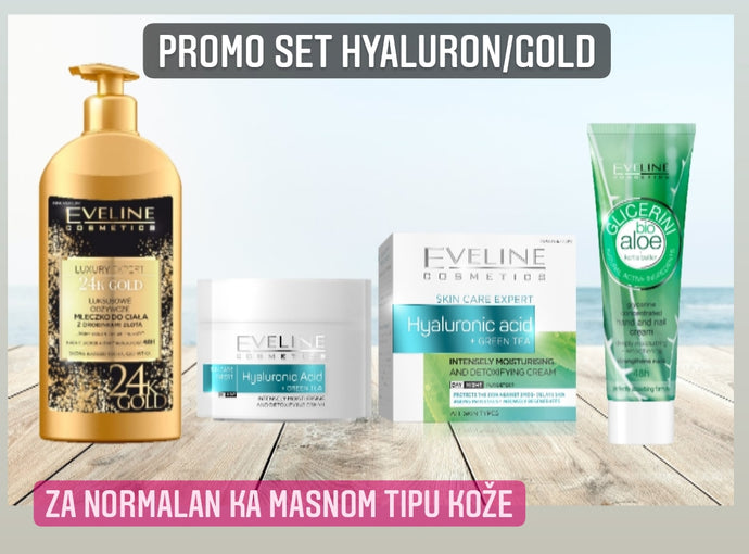 Promo set Hyaluron/gold