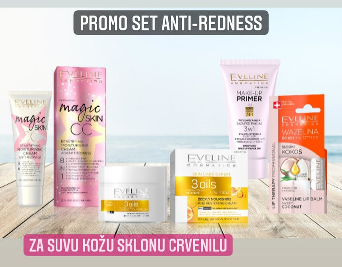 Promo set anti-redness