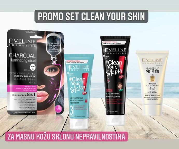 Promo set clean your skin