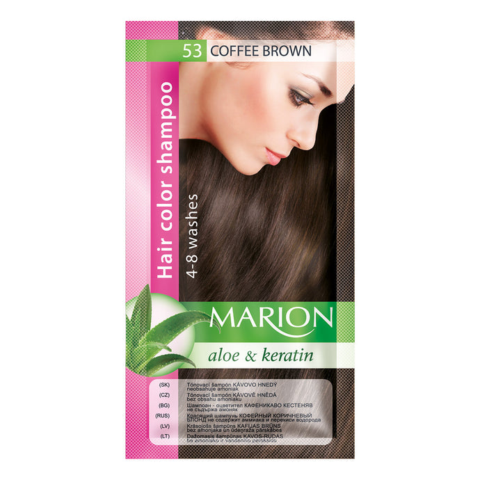 Marion hair color shampoo -53