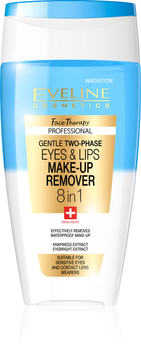 Eveline Face Therapy eyes-lips make up remover 8in1 150ml