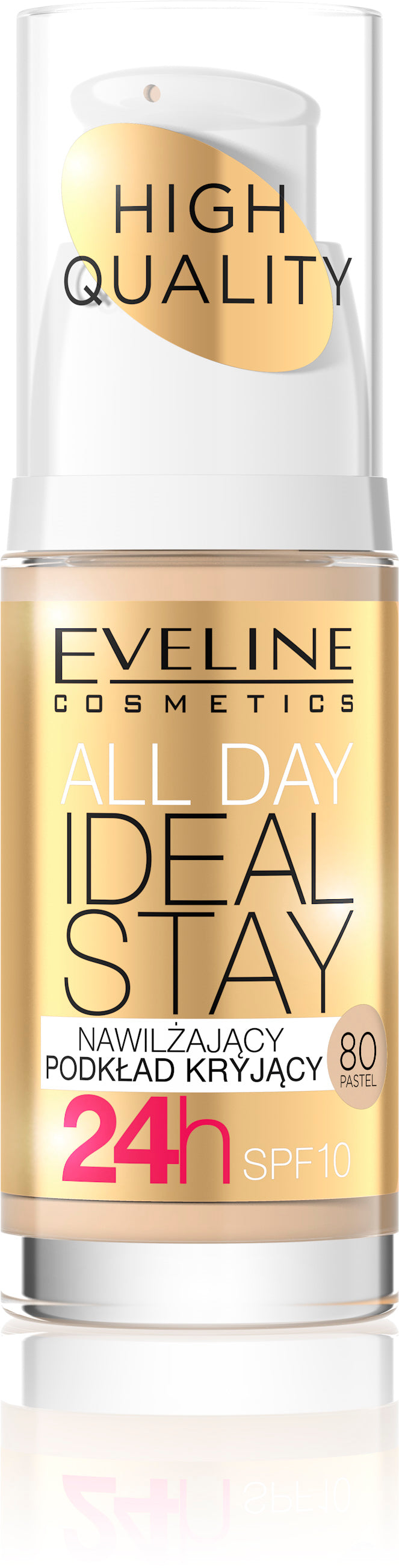 Tečni puder All day ideal stay -80 Pastel