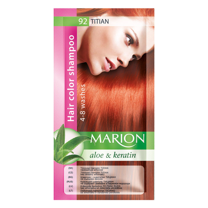 Marion hair color shampoo -92