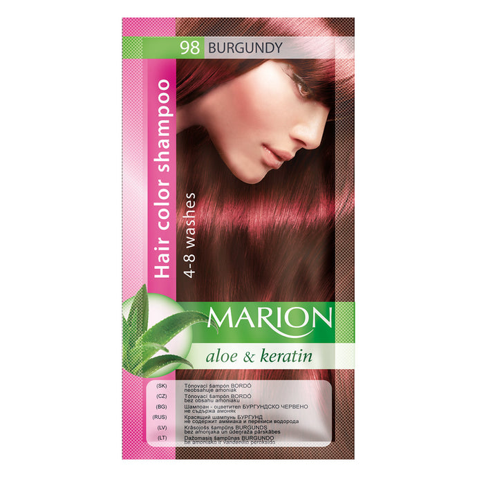 Marion hair color shampoo -98