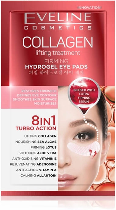 Eveline collagen eye pads