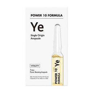 IT'S SKIN POWER 10 FORMULA YE Single Origin ampule za poboljšanje teksture kože, set od 7 komada po 1,7 ml u kutiji