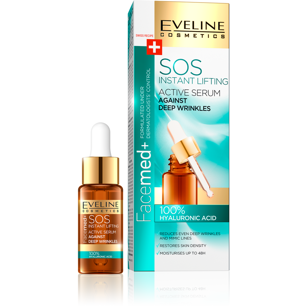 FACEMED 100% hyaluronic serum za lice 18ml