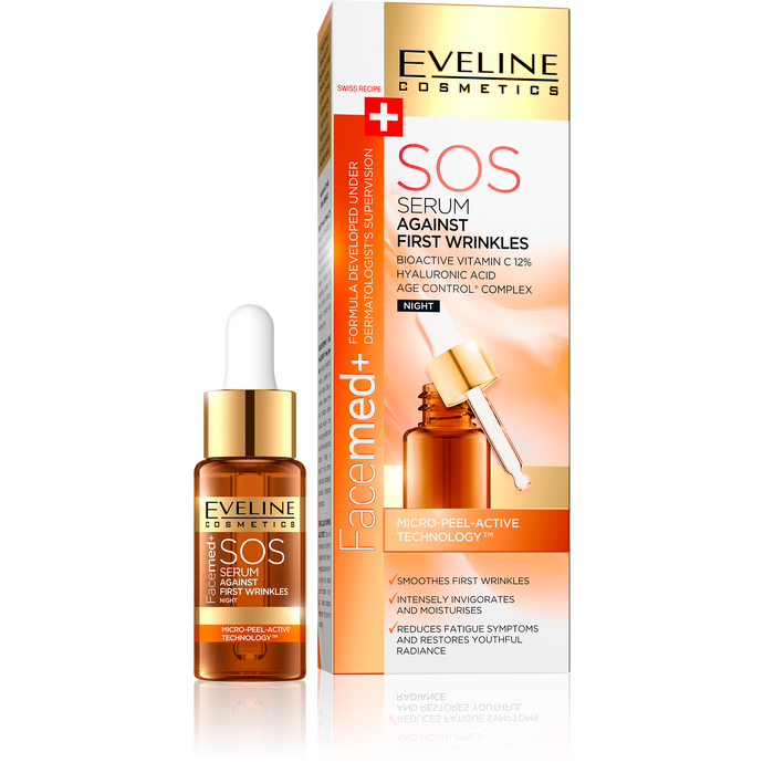 Facemed SOS serum protiv prvih bora 18ml
