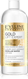 Eveline Gold lift expert micelarna voda 400ml
