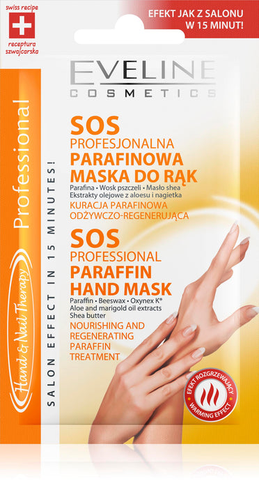 SOS PROFESSIONAL PARAFFIN HAND MASK 7ml