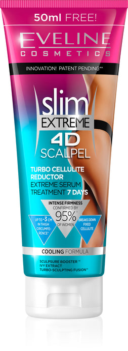 Slim extreme 4d scalpel turbo reduktor serum 250ml