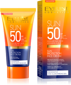 EVELINE SUN care krema za lice spf50 50ml