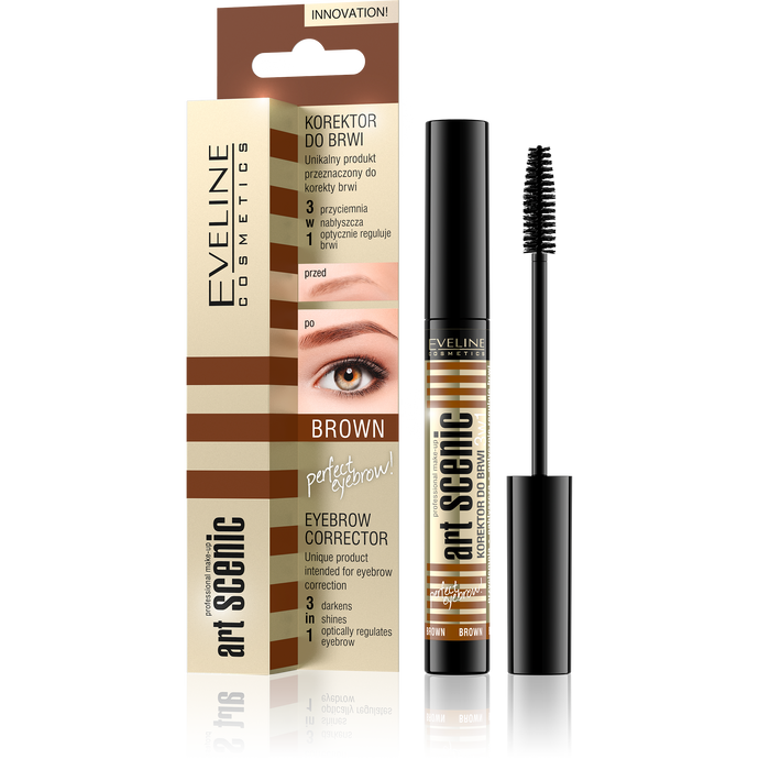 Eyebrow corrector art scenic -Brown