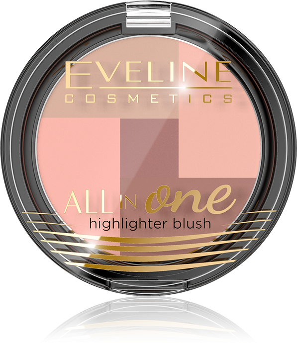 Eveline all in one Highlighter blush -1