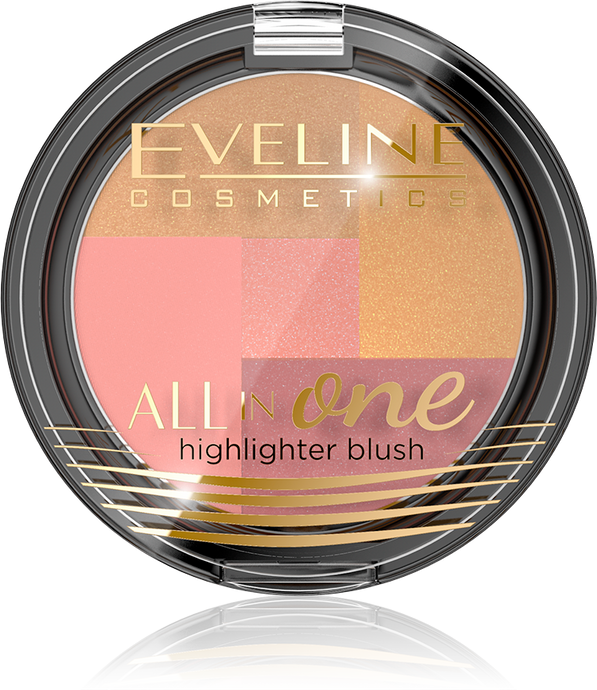 Eveline all in one Highligher blush -3
