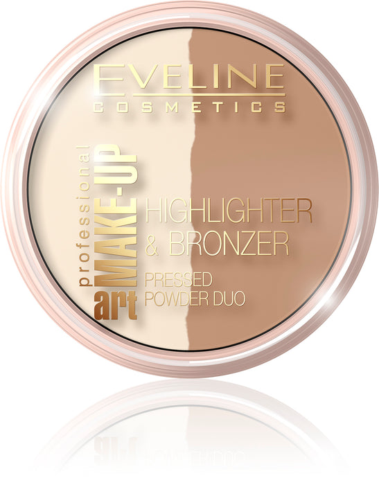 Puder duo bronzer-highligter -57