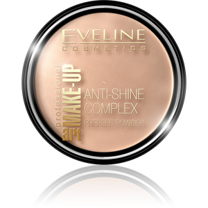 Puder Anti-shine complex -34 Medium beige