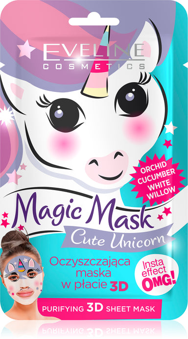 Eveline magic mask -cute unicorn