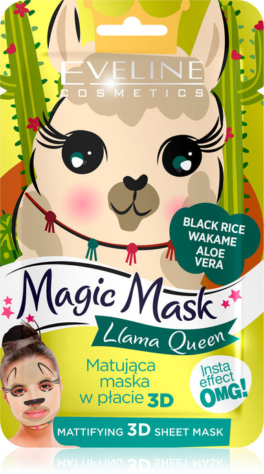 Eveline magic mask -Llama queen
