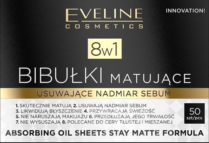 Eveline oil absorbing sheets 50kom