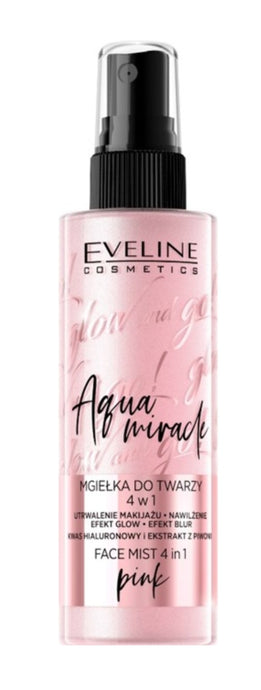 Eveline glow-go miracle mist -pink