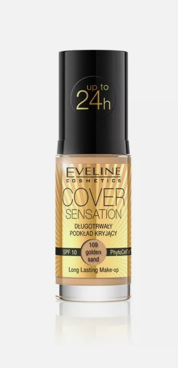 Eveline t.puder Cover Sensation 109- golden sand