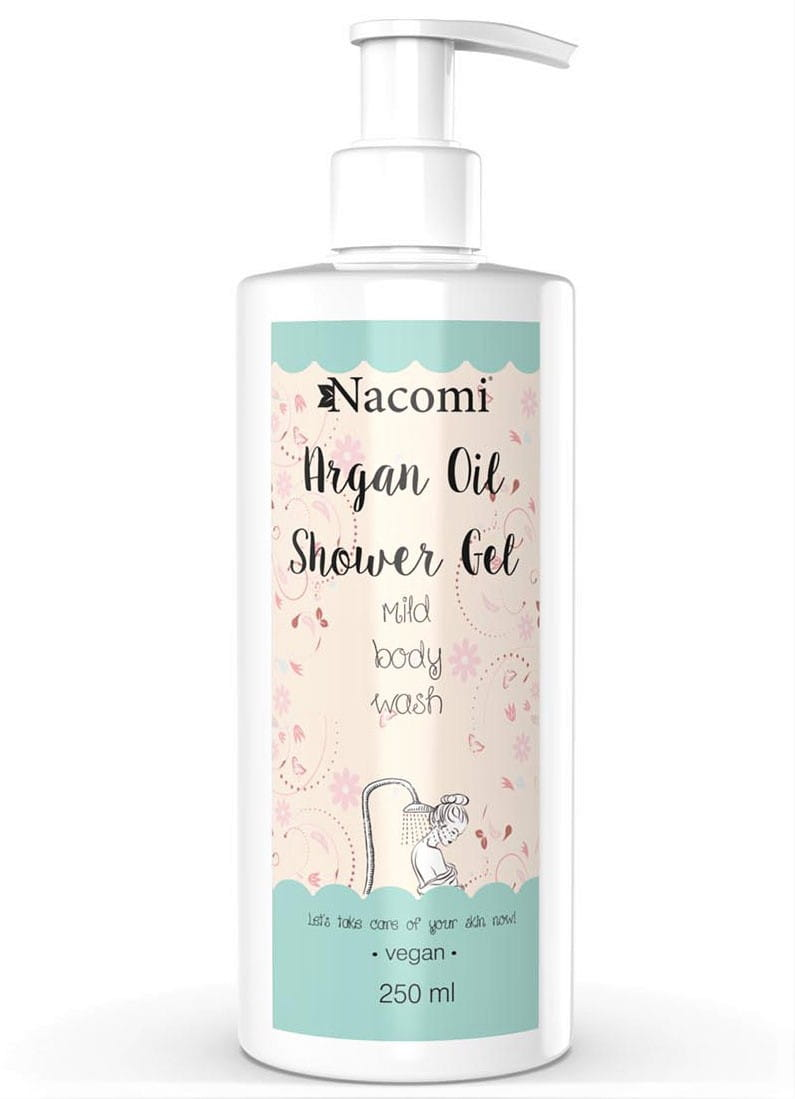 Nacomi shower gel Arganovo ulje 250ml