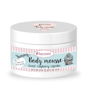 Nacomi Body Mousse - Sweet raspberry cup