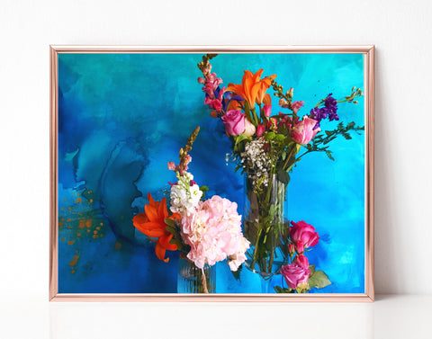 Flower Still Life I - Printable Wall Art