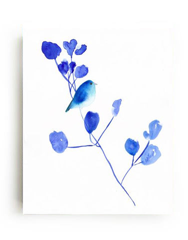 Bluebird I Canvas Print - Mai Autumn - canvas prints