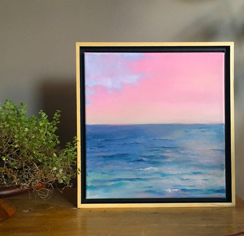 'Pink Sunset' Original Painting