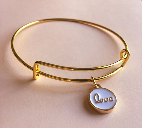Love Bangle Bracelet - Mai Autumn - Bracelets