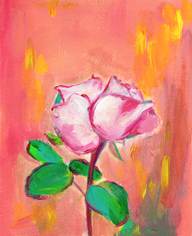 'Rose' Original Painting