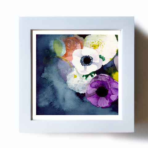 Anemones Original - Mai Autumn - Original Art