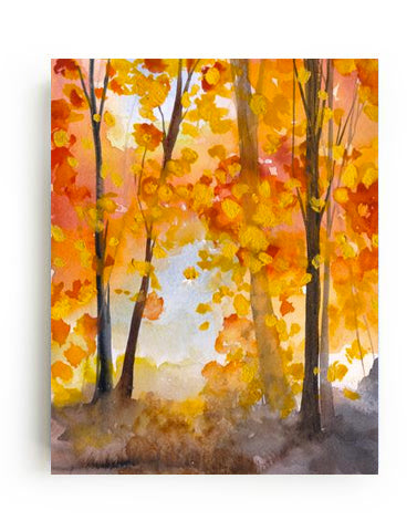 Autumn Grove Canvas Print - Mai Autumn - canvas prints