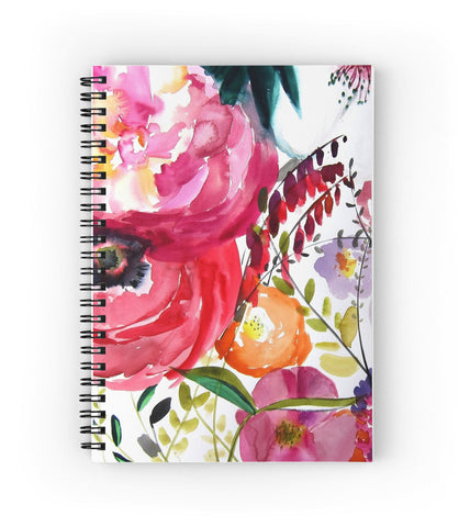 Bloom Spiral Notebook - Mai Autumn - paper goods
