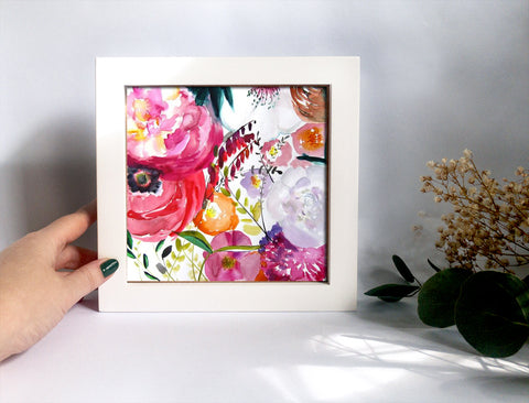 Framed Mini Print - Bloom - Ready to Hang - Mai Autumn - Mini Framed Print