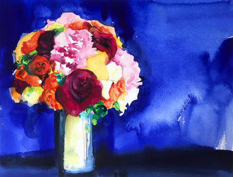 Blue Bouquet - Mai Autumn - Artwork