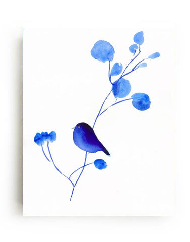 Bluebird II Canvas Print