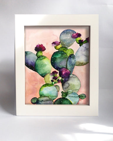 Framed Mini Print - Desert Rose II - Ready to Hang - Mai Autumn - Mini Framed Print